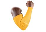 ProTect рукав компрессионный с защитными накладками баскетбольный желтый