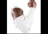 ProTect рукав компрессионный с защитными накладками баскетбольный белый