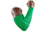 ProTect рукав компрессионный с защитными накладками баскетбольный зеленый