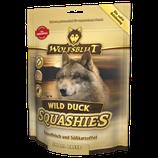 Wolfsblut Squashies – softe Hundesnacks für kleine Hunderassen mit Entenfleisch und Süßkartoffel 350g