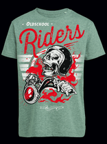 "Kids Shirt ""Oldschool Riders"""