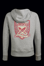 "Lady-Hoody ""Two Stroke Army"""