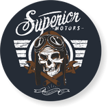 "Sticker ""Superior Motors"""