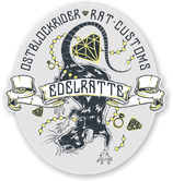 "Sticker ""Edelratte"""