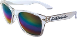 Sonnenbrille transparent+rainbow