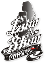 "Sticker ""Go Low Blow Slow"""