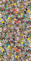 Sticker Bombing - Folie 130cm x 250cm