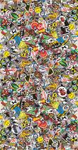 Sticker Bombing - Folie 130cm x 250cm