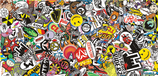 Sticker Bombing - Folie 130cm x 62cm