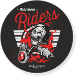 "Sticker ""Oldschool Riders"""