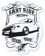 "Sticker ""Eastside Motors 353"""