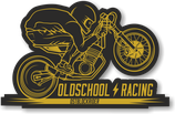 "Sticker ""Oldschool Racing"""
