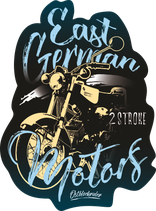 "Sticker ""East German Motors 2"""