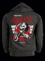 """Zip-Hoody """"Oldschool Riders"""""""