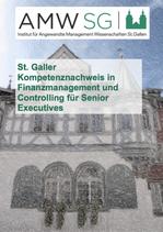 St. Galler Kompetenznachweis in Finanzmanagement und Controlling für Senior Executives