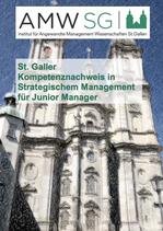 St. Galler Kompetenznachweis in Strategischem Management für Junior Manager