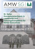 St. Galler Kompetenznachweis in Leadership und Führungskompetenz für Senior Executives