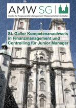 St. Galler Kompetenznachweis in Finanzmanagement und Controlling für Junior Manager