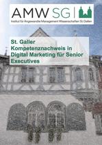 St. Galler Kompetenznachweis in Digital Marketing für Senior Executives
