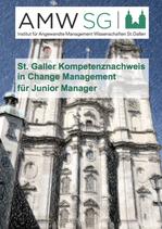 St. Galler Kompetenznachweis in Change Management für Junior Manager