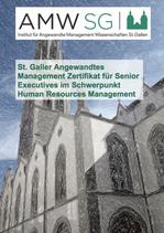 St. Galler Angewandtes Management Zertifikat für Senior Executives im Schwerpunkt Human Resources Management
