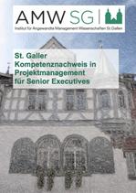 St. Galler Kompetenznachweis in Projektmanagement für Senior Executives