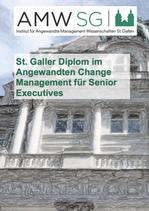St. Galler Diplom im Angewandten Change Management für Senior Executives