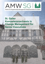 St. Galler Kompetenznachweis in Change Management für Senior Executives