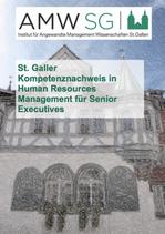 St. Galler Kompetenznachweis in Human Resources Management für Senior Executives