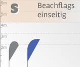 S Beachflag