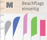 M Beachflag