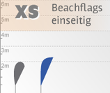 XS Beachflag