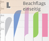 L Beachflag