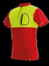 Zipp Neck Shirt kurzarm/langarm mit BSC Transfer