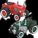 Sparkasse Traktor rot & grün