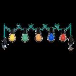 Biergarten Lichterkette