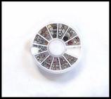 Strass ronds manucure ou customisation : carrousel strass NA 016