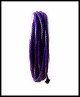 Coton ciré violet brillant 2 mm