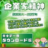 商品名「企業家精神」2006年~2017年 全1440話 全データ  ダウンロード版