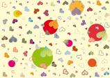 Geschenkpapier Herze