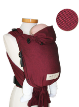 Storchenwiege Baby Carrier Bordeaux