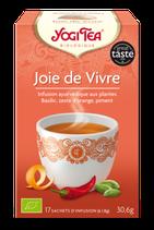 JOIE DE VIVRE 17 INFUSETTES YOGI TEA