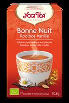 BONNE NUIT ROOIBOS VANILLE 17 INFUSETTES YOGI TEA
