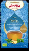 INSPIRATION FRAICHE 20 INFUSETTES YOGI TEA