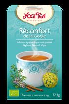 RECONFORT DE LA GORGE 17 INFUSETTES YOGI TEA