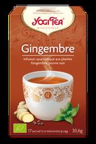 GINGEMBRE 17 INFUSETTES YOGI TEA