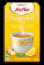 GINGEMBRE CITRON 17 INFUSETTES YOGI TEA