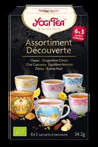 ASSORTIMENT DECOUVERTE 18 INFUSETTES YOGI TEA