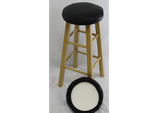 "13"" Bar stool seat cover"