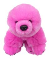 Eisbär Kuscheleisbär groß 20cm, Farbe pink
